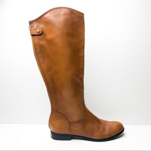 Ciao Bella Cognac Raya Tall Riding Boot